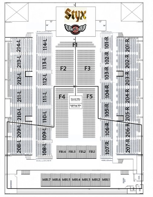 Hersheypark Stadium Seating Chart With Rows Styx Road